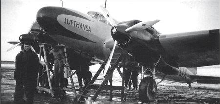 He-111V2 «D-ALIX» «Росток». На самолете установлены новые двигатели «Даймлер-Бенц» с наддувом
