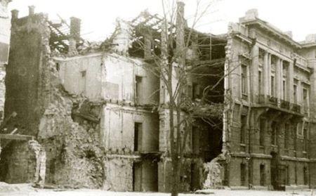 Дом по ул. Маразлиевской 42 после расчистки завалов